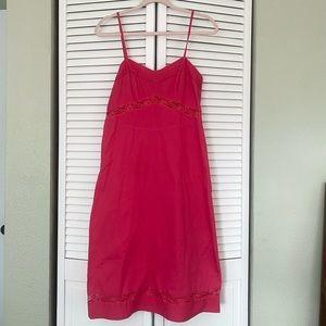 J Crew vintage spaghetti strap dress